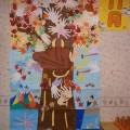 デイケア壁画 11月ver.